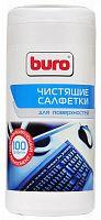 Салфетки Buro BU-Tsurface для поверхностей туба 100шт влажных