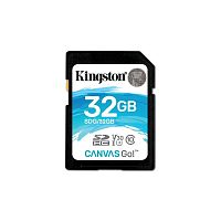 Флеш карта SDHC 32Gb Class10 Kingston SDG/32GB Canvas Go