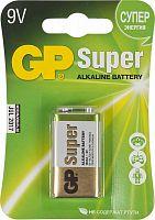 Батарея GP Super Alkaline 1604A 6LR61 9V 550mAh (1шт)