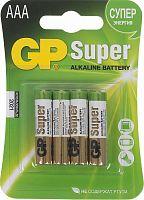 Батарея GP Super Alkaline 24A LR03 AAA (4шт)