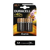 Батарея Duracell Basic LR6-6BL AA (6шт)