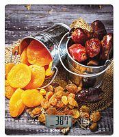 Весы кухонные электронные Scarlett SC-KS57P33 макс.вес:8кг рисунок