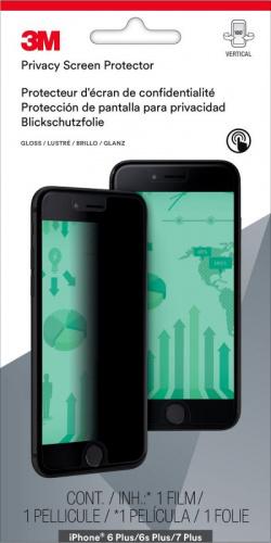 Пленка защиты информации для экрана 3M MPPAP010 для Apple iPhone 6 Plus/6S Plus/7 Plus 1шт. (7100112606)