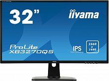 "Монитор Iiyama 32"" ProLite XB3270QS-B1 черный IPS 4ms 16:9 DVI HDMI M/M матовая HAS Pivot 1200:1 300cd 178гр/178гр 2560x1440 DisplayPort"
