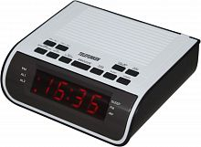 Радиоприемник настольный Telefunken TF-1591 черный/белый