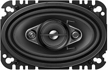 Колонки автомобильные Pioneer TS-A4670F (без решетки) 210Вт 4Ом 10x16см (4x6дюйм) (ком.:2кол.) коаксиальные четырехполосные