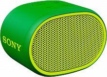 Колонка порт. Sony SRS-XB01 зеленый 3W 2.0 BT 20м 600mAh 1xAA (без.бат) (SRSXB01G.RU2)