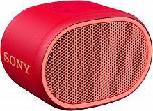 Колонка порт. Sony SRS-XB01 красный 3W 2.0 BT 20м 600mAh 1xAA (без.бат) (SRSXB01R.RU2)