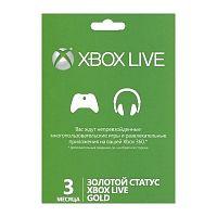 Карта подписки Microsoft XBOX LIVE 3 месяца для: Xbox One (52K-00271)