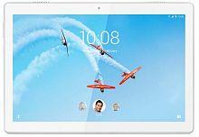 "Планшет Lenovo Tab M10 TB-X605L Snapdragon 450 (1.8) 8C/RAM2Gb/ROM16Gb 10.1"" IPS 1920x1200/3G/4G/Android 8.1/белый/5Mpix/2Mpix/BT/GPS/WiFi/Touch/microSD 128Gb/minUSB/4850mAh"