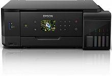 МФУ струйный Epson L7160 (C11CG15404) A4 Duplex Net WiFi USB RJ-45 черный