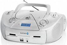 Аудиомагнитола BBK BX318BT серебристый 5Вт/CD/CDRW/MP3/FM(dig)/USB/BT