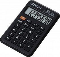 Калькулятор карманный Citizen LC210NR черный 8-разр.