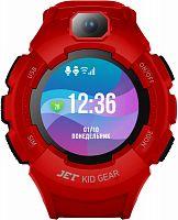 "Смарт-часы Jet Kid Gear 50мм 1.44"" TFT черный (GEAR RED+BLACK)"