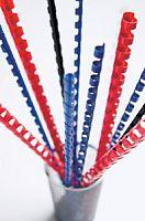 Пружины для переплета пластиковые Fellowes d=6мм 2-20лист A4 белый (100шт) CRC-53450 (FS-53450)