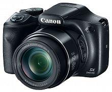 "Фотоаппарат Canon PowerShot SX540 HS черный 20.3Mpix Zoom50x 3"" 1080p SDXC/SD/SDHC CMOS 1x2.3 IS opt 5.9fr/s 30fr/s HDMI/WiFi/NB-6LH"