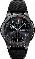 "Смарт-часы Samsung Galaxy Gear S3 Frontier SM-R760 1.3"" Super AMOLED титан матовый (SM-R760NDAASER)"