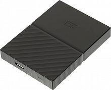 """Жесткий диск WD Original USB 3.0 1Tb WDBBEX0010BBK-EEUE My Passport 2.5"""" черный"""