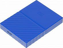 "Жесткий диск WD Original USB 3.0 1Tb WDBBEX0010BBL-EEUE My Passport 2.5"" синий"