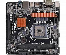 Материнская плата Asrock H110M-DGS R3.0 Soc-1151 Intel H110 2xDDR4 mATX AC`97 8ch(7.1) GbLAN+DVI
