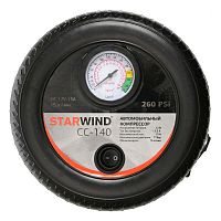 Автомобильный компрессор Starwind CC-140 15л/мин шланг 0.5м