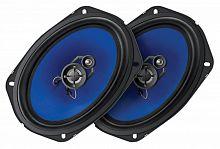 Колонки автомобильные Digma DCA-K693 280Вт 90дБ 4Ом 15x23см (6x9дюйм) (ком.:2кол.) коаксиальные трехполосные