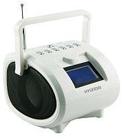 Аудиомагнитола Hyundai H-PAS200 белый 6Вт/MP3/FM(dig)/USB/SD