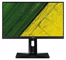 "Монитор Acer 27"" CB271HKAbmidprx черный IPS LED 4ms 16:9 DVI HDMI M/M матовая HAS Pivot 300:1 300cd 178гр/178гр 3840x2160 DisplayPort FHD"