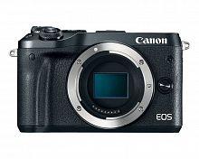 """Фотоаппарат Canon EOS M6 черный 24.2Mpix 3"""" 1080p WiFi LP-E17"""