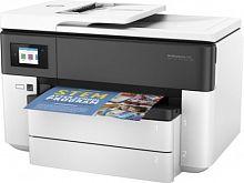 МФУ струйный HP Officejet Pro 7730 (Y0S19A) A3 Duplex Net WiFi USB RJ-45 белый/темно-синий