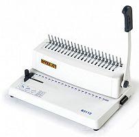 Переплетчик Office Kit B2112 A4/перф.12л.сшив/макс.250л./пластик.пруж. (6-28мм)
