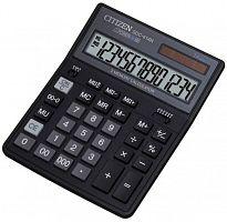 Калькулятор бухгалтерский Citizen SDC-414 N черный 14-разр.
