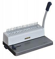 Переплетчик Office Kit B2110 A4/перф.10л.сшив/макс.250л./пластик.пруж. (6-28мм)