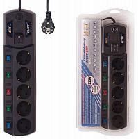 Сетевой фильтр Most EHV 5м (5 розеток) черный (коробка)