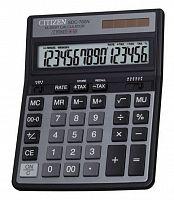 Калькулятор настольный Citizen SDC-760N черный 16-разр.