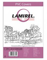 Обложки для переплёта Fellowes A4 прозрачный (100шт) Lamirel (LA-78680)