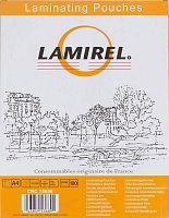 Пленка для ламинирования Fellowes 75мкм A4 (100шт) 216x303мм Lamirel (LA-78656)