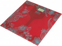 Весы напольные электронные Sinbo SBS 4429 макс.180кг красный