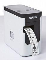 Принтер Brother P-touch PT-P700 стационарный черный/белый