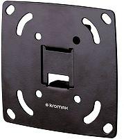 """Кронштейн для телевизора Kromax OPTIMA-100 черный 10""""-28"""" макс.25кг настенный фиксированный"""