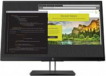 "Монитор HP 23.8"" Z24nf G2 черный IPS LED 16:9 HDMI глянцевая HAS Pivot 250cd 178гр/178гр 1920x1080 D-Sub DisplayPort FHD USB 5.6кг"