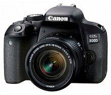 "Зеркальный Фотоаппарат Canon EOS 800D черный 24.2Mpix EF-S 18-55mm f/4-5.6 IS STM 3"" 1080p Full HD SDXC Li-ion (с объективом)"