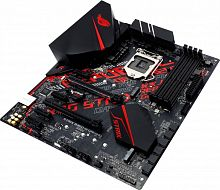Материнская плата Asus ROG STRIX B360-H GAMING Soc-1151v2 Intel B360 4xDDR4 ATX AC`97 8ch(7.1) GbLAN+DVI+HDMI