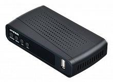 Ресивер DVB-T2 Hyundai H-DVB220 черный