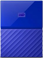 "Жесткий диск WD Original USB 3.0 2Tb WDBLHR0020BBL-EEUE My Passport 2.5"" синий"