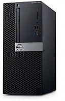 ПК Dell Optiplex 7060 MT i7 8700 (3.2)/16Gb/1Tb 7.2k/UHDG 630/DVDRW/Windows 10 Professional/GbitEth/200W/клавиатура/мышь/черный/серебристый
