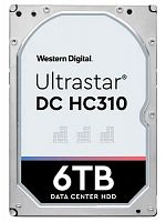 "Жесткий диск WD Original SAS 3.0 6Tb 0B36047 HUS726T6TAL5204 Ultrastar DC HC310 (7200rpm) 256Mb 3.5"""