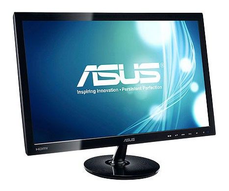 "Монитор Asus 23.6"" VS247HR черный TN+film LED 2ms 16:9 DVI HDMI матовая 250cd 1920x1080 D-Sub FHD 4.21кг фото 3"
