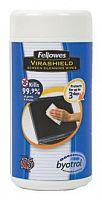 Салфетки Fellowes FS-22117 для экранов туба 100шт влажных
