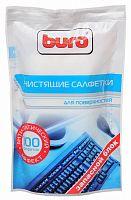 Салфетки Buro BU-Zsurface для поверхностей мягкая упаковка 100шт влажных